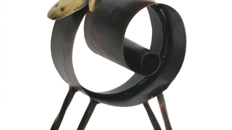 Iron Copper Tissue Holder