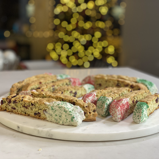 Paolo's Holiday Biscotti
