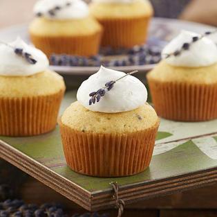 Jazz Smollett's Lemon Lavender Cupcakes