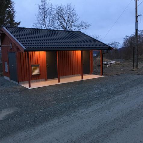 Klefstadhaugen Vannpumpestasjon Trondheim kommune