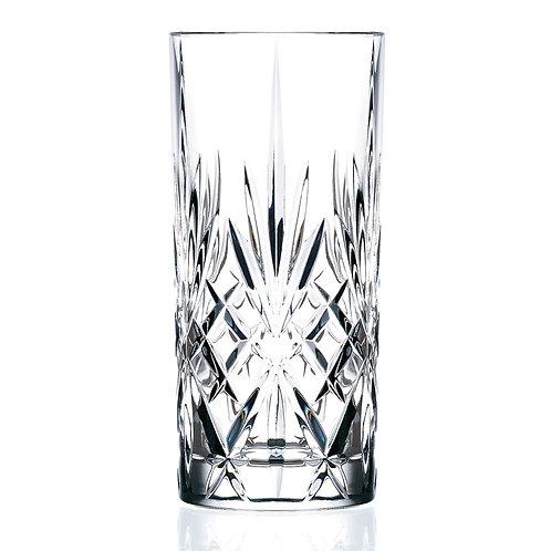 Longdrinkglass, 36 cl - RCR Melodia (Set of 6)