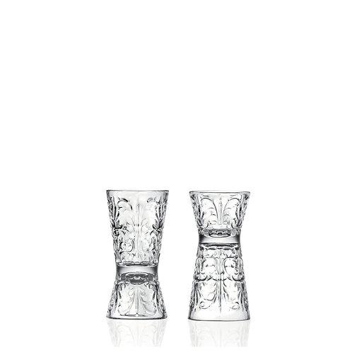 Jigger / Shotglass, 6/3 cl - RCR Tattoo (Set of 6)