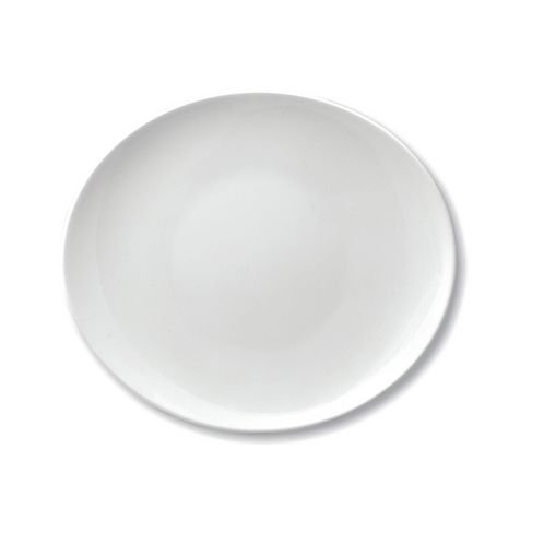 Steak Plate Oval, 30x26.5 cm - Ariane Prime (Set of 6)