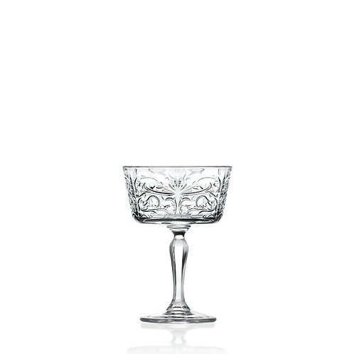 Champagne Coupe, 27 cl - RCR Tattoo (Set of 6)
