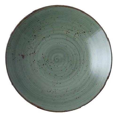 Schaal Diep, Ø25xH:4,2cm - Continental Rustic (Set van 12)