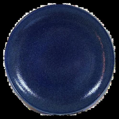 Coupe Plate, 27 cm - Ariane Cobalt Blue (Set of 6)