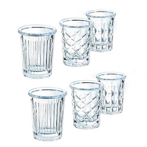 Shotglas Mix 3,4 cl - ARC New York  (Set of 4 x 6)