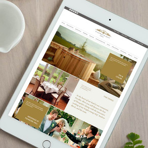 Web design for boutique hotel
