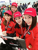 Formula 1 event with Nissan girls- March