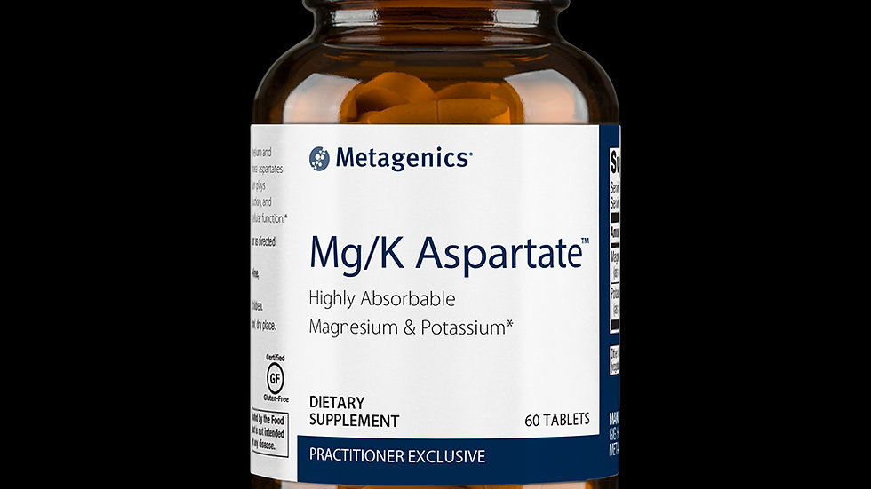 Mg/K Aspartate - Magnesium and Potassium