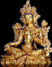 緑ターラー像(多羅観音脇仏)