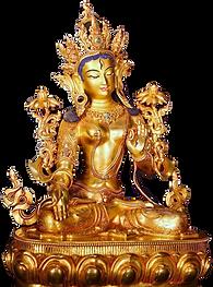 白ターラー像(多羅観音脇仏)