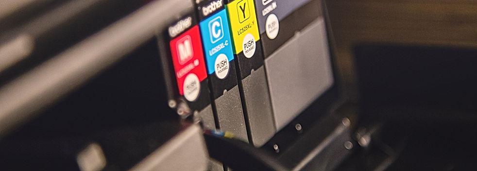 프린터 잉크 확인