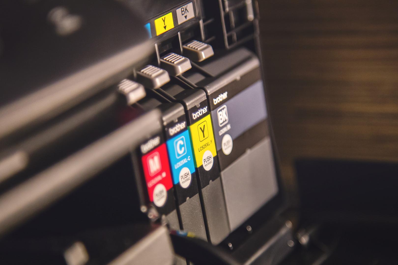 Comprobación de tinta de impresora