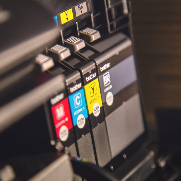 打印機墨水檢查