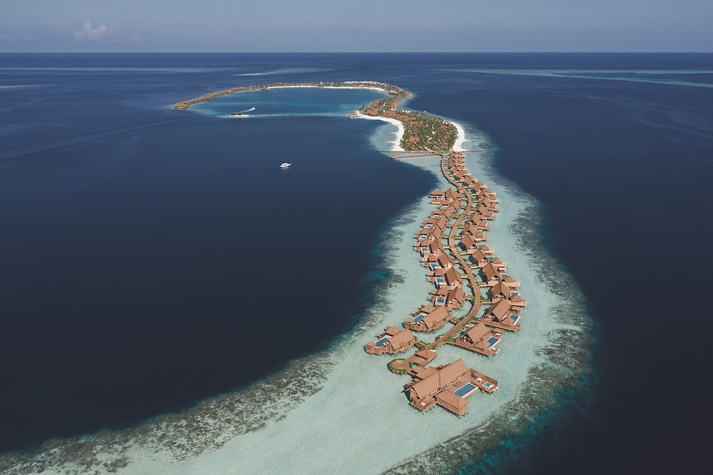 Overview of Waldorf Astoria Maldives