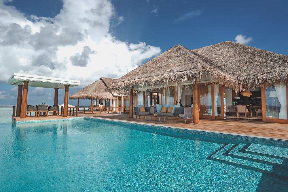 Anantara Kihavah Maldives Over Water Residence Pool