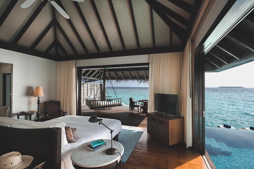 Anantara Kihavah Maldives Over Water Villa