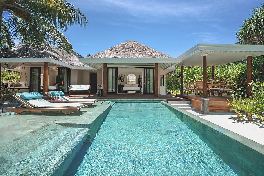 Anantara Kihavah Maldives Family Beach Pool Villa