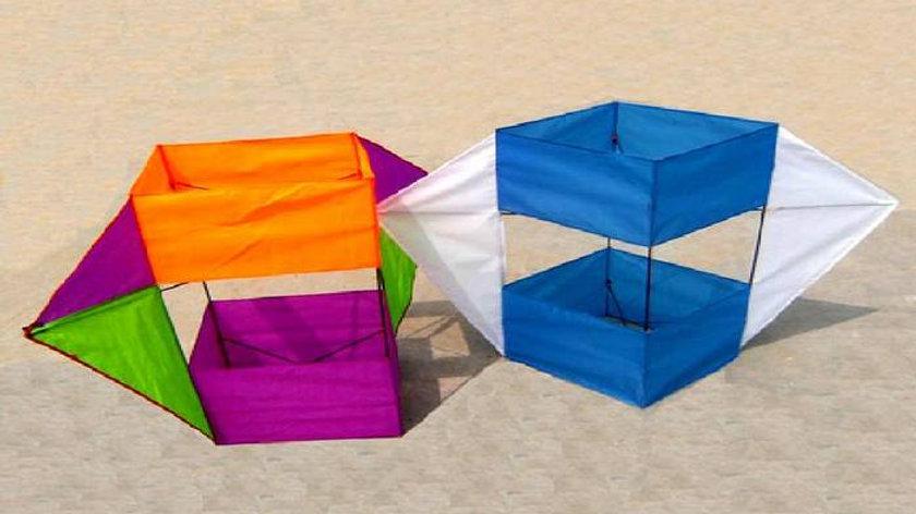 עפיפון קופסא תלת ממד