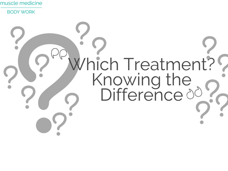 Which Treatment?  Knowing the Difference
