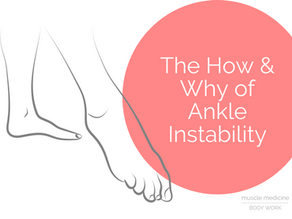 The How & Why of Ankle Instability