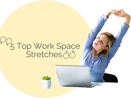 5 Stretches You Can Do At Your Desk|Dining Table|Couch|Bed-Table