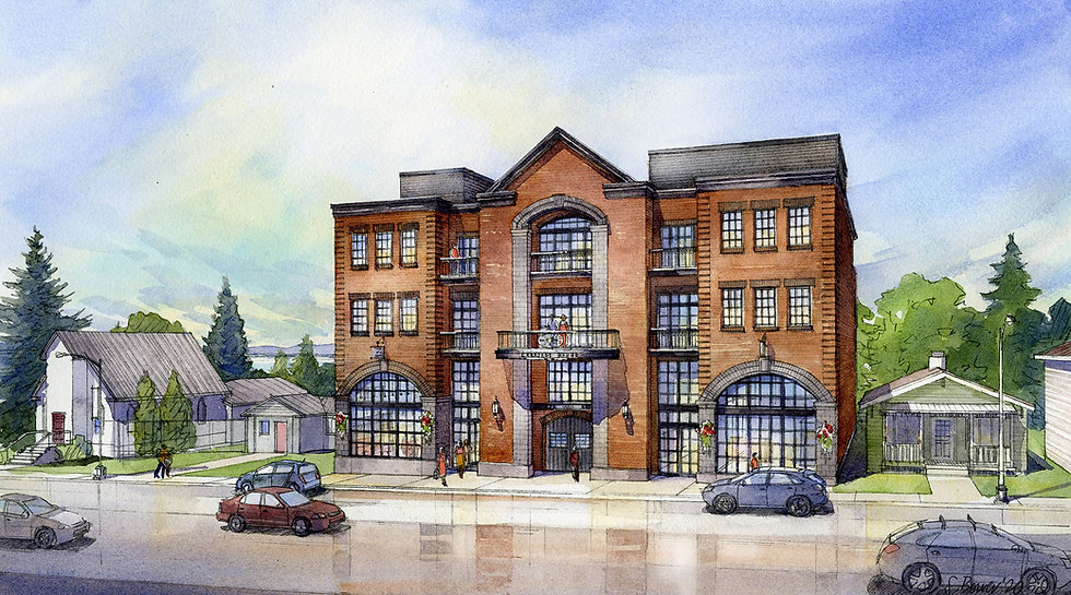 Carriage House Rendering - withOUT title