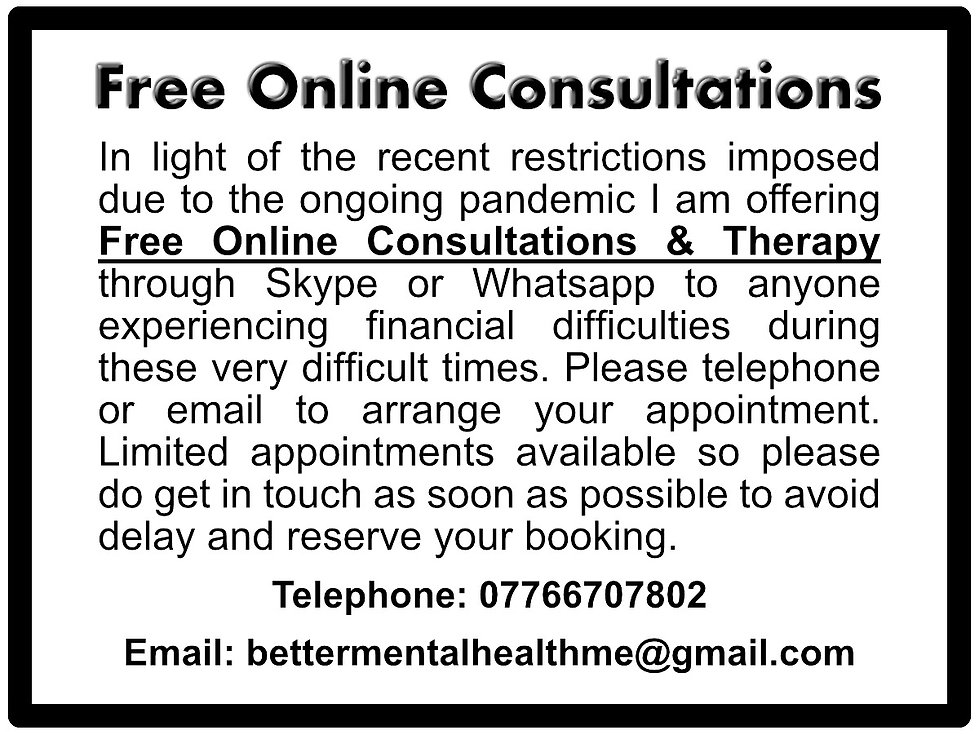 Free Online Consultations