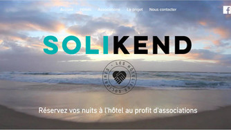 Solikend, ou l'alliance possible de solidarité et hôtels de rêve en Aquitaine