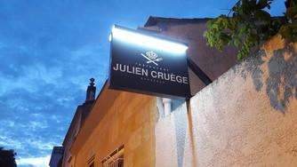 Exquise soirée chez Julien Cruège