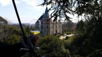 En apesanteur au Château de Rayne Vigneau