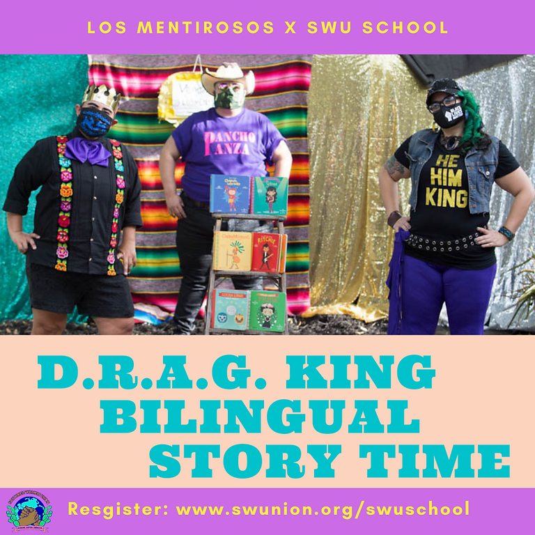 Bilingual Drag King Story Time Show #1