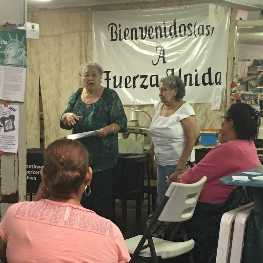 Co-Founders of Fuerza Unida