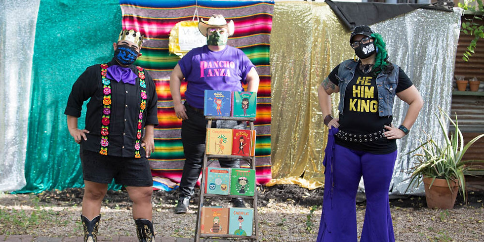 Bilingual Drag King Story Time Show - PRIDE Special