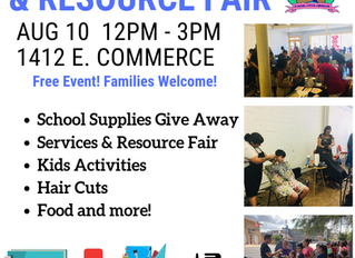 Back to School Resource and Health Fair