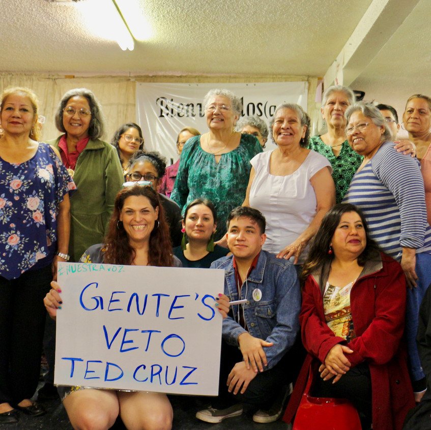 Gente's Vote Ted Cruz