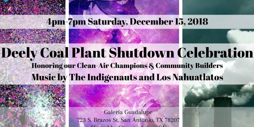 Dirty Deely Coal Plant Shutdown Celebration!