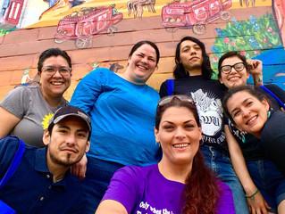 Nuestra Voz Climate Justice Bock Walking Campaign Launch