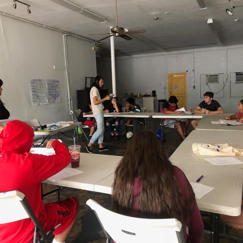 Youth Training July 2018
