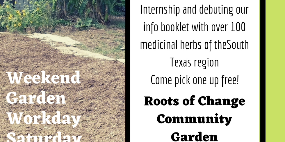 Medicinal Garden Workday