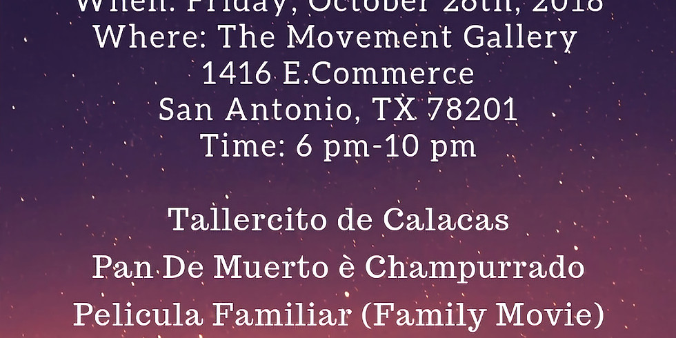 Dia de los Muertos Family Event and Taller