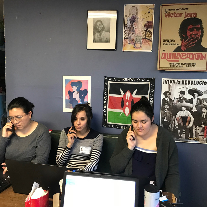 Phone Bankers March 2018