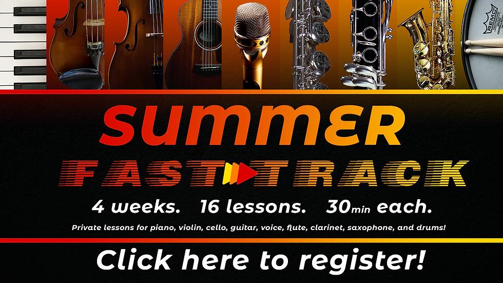 Summer Online Music Lessons