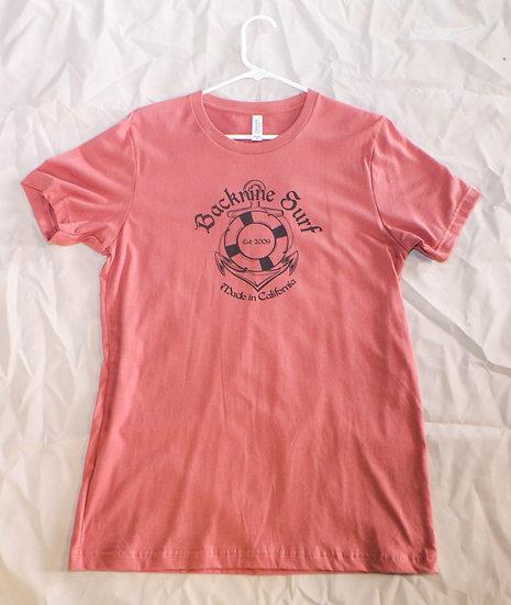 Salmon Backnine Surf Shirt