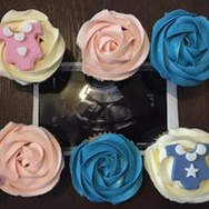 Baby Announcment Cupcakes