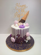 Melting Icecream drip cake