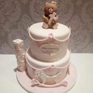 Girls delicate Christening Cake.jpg