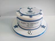 Tottenham Football themed cake