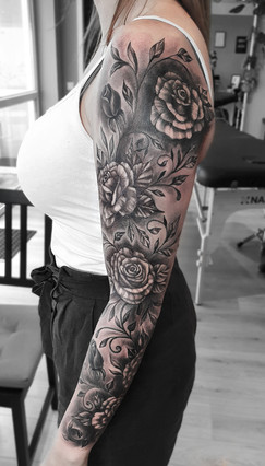 Cover-Up / Touch-Up / 2. Sitzung